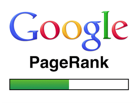 google page rank graphic